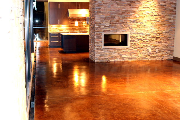 Stained Concrete | Decorative Concrete of Oklahoma
